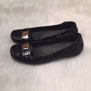 Stuart Weitzman Crocodile Loafers